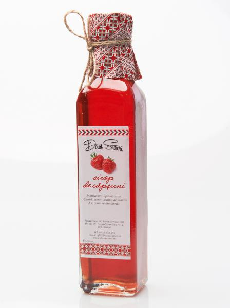 Sirop de capsuni 250 ml